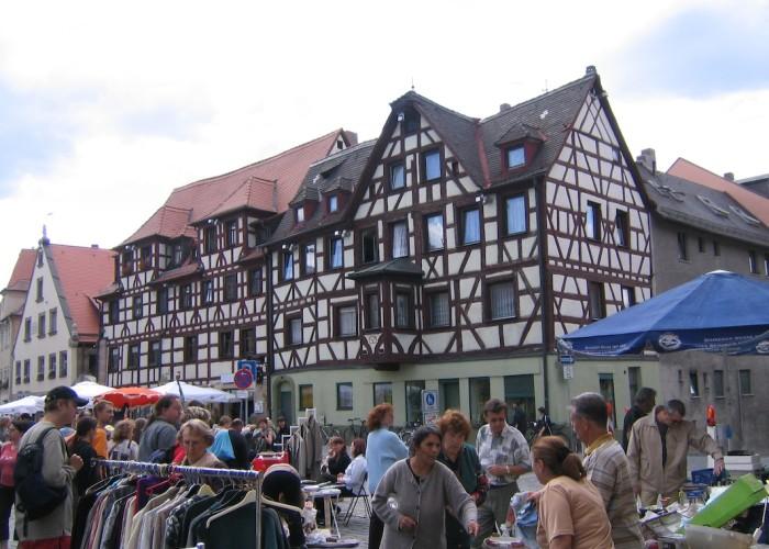 Grafflmarkt 2004 am Grünen Markt