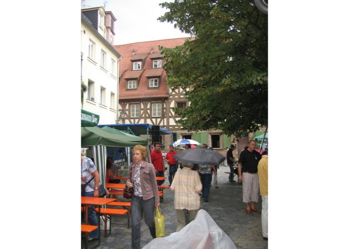 Grafflmarkt 2007 mit Regen