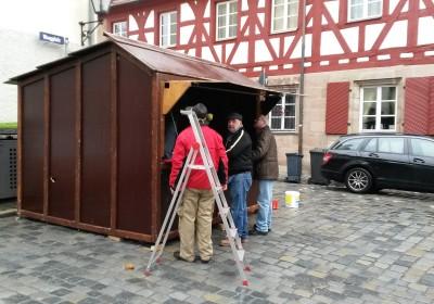 Auf die leckeren Bratwürste der Altstadtweihnacht Fürth freuen sich schon viele Besucher.