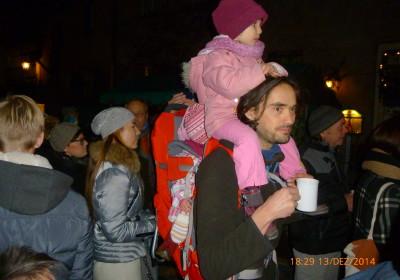 Glühwein gibt es auch auf der Altstadtweihnacht Fürth