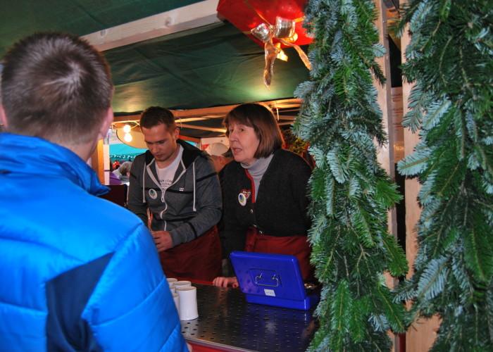 Auf der Altstadtweihnacht gibt es Winzerglühwein