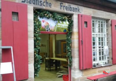 Bald geht es in der Freibank am Waagplatz besonders gemütlich zu.