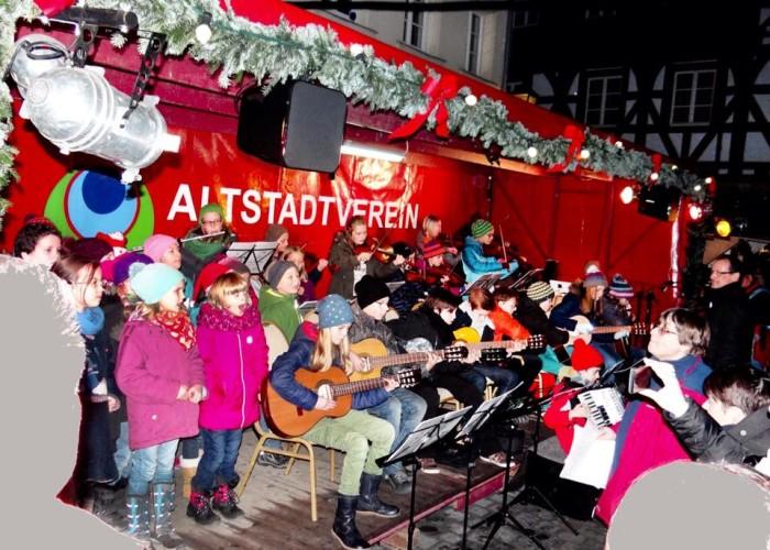 Kinderchor und Orchester Kunterbunt der Musikschule Fürth