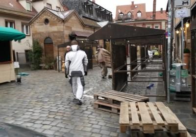 Fürther Altstadtweihnacht: Der Aufbau geht weiter!