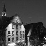 Gustavstraße bei Nacht