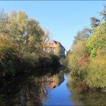 Herbstimpressionen - Blick vom Karlsteg
