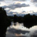 Herbstimpressionen - Blick vom Röllingersteg